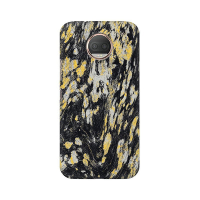 Black & Gold Wood Texture Motorola Mobile Covers