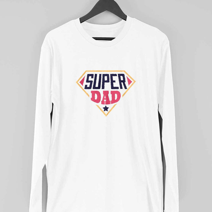 Super Dad Full Sleeve T-Shirt
