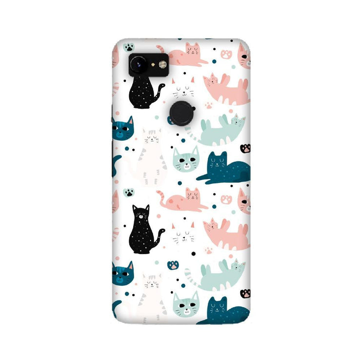 Cat pattern Google Mobile Covers