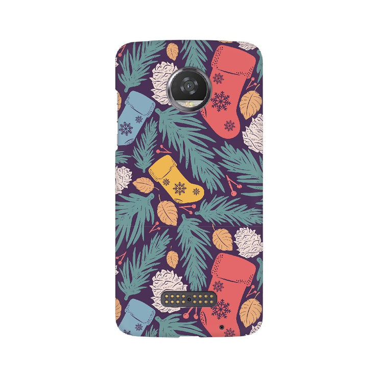 Christmas Gifts Pattern Motorola Mobile Covers