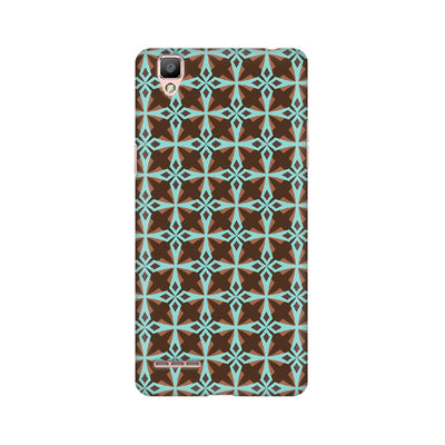 Abstract Geometrical Pattern Oppo Mobile Covers