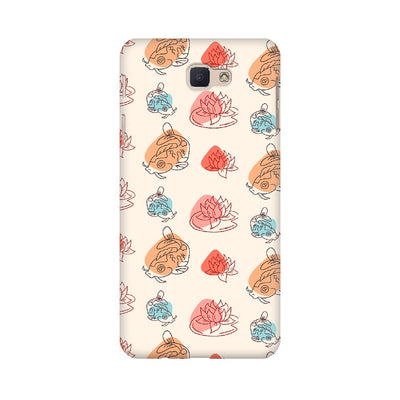 Chinese Koi Fish Pattern Samsung Mobile Covers