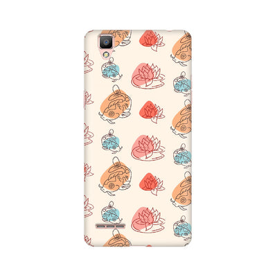 Chinese Koi Fish Pattern Oppo Mobile Covers