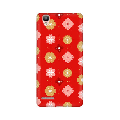 Chinese New Year Flowers Pattern Oppo Mobile Covers