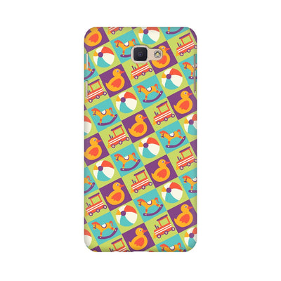 Colorful Kids Toys Pattern Samsung Mobile Covers