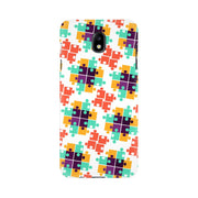 Colorful Puzzle Pattern Samsung Mobile Covers