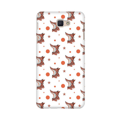 Fox Abstract Pattern Samsung Mobile Covers