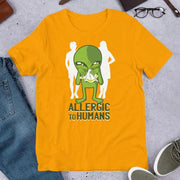 Allergic to Humans Half Sleeve T-Shirt