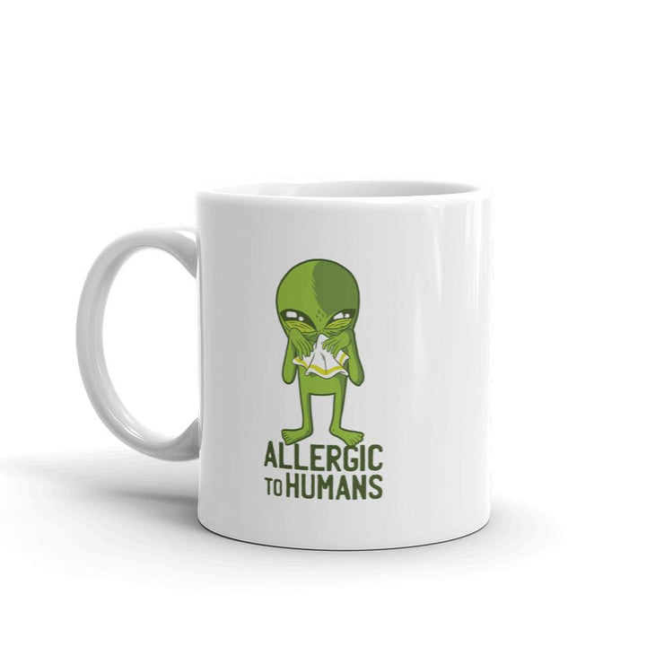 Allergic to Humans Coffee Mug