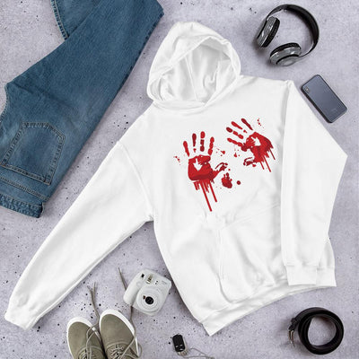 Blood Stains Unisex Hooded Sweatshirt