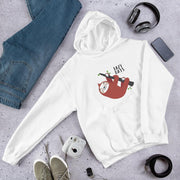 Lazy days Sloth Unisex Hooded Sweatshirt