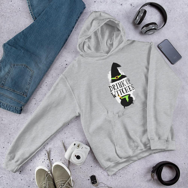 Drink Up Witches Unisex Hooded Sweatshirt