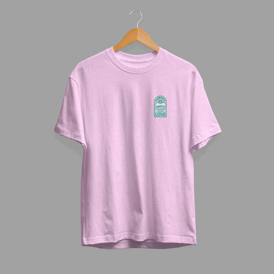 Filled With Love Half Sleeve Unisex T-Shirt #Pocket-design