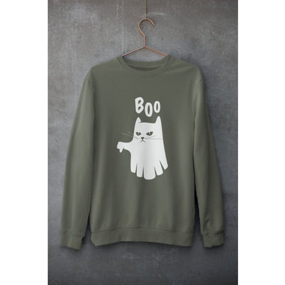 Ghost Cat Unisex Sweatshirt