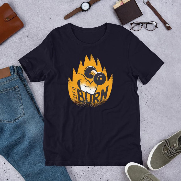 Let It Burn Half Sleeve T-Shirt