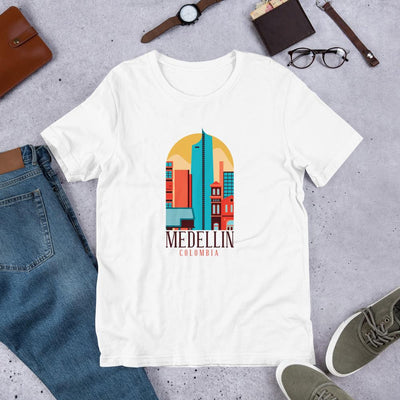 Medellin Colombia Half Sleeve T-Shirt