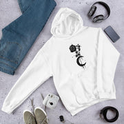 Moon Rose Unisex Hooded Sweatshirt