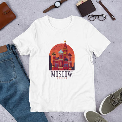 Moscow Russia Half Sleeve T-Shirt