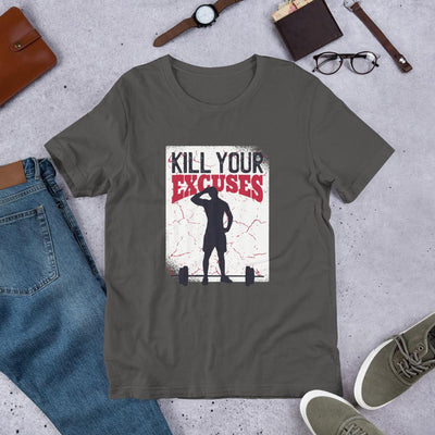 Kill Your Excuses Half Sleeve T-Shirt
