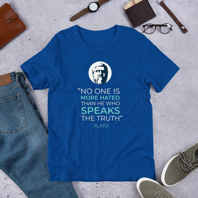 Plato Quote Half Sleeve T-Shirt
