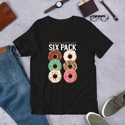 Donut Six Pack Half Sleeve T-Shirt