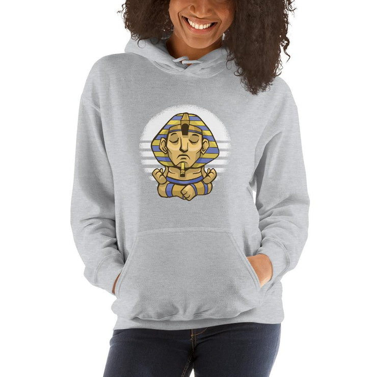 Sphynx Yoga Unisex Hooded Sweatshirt