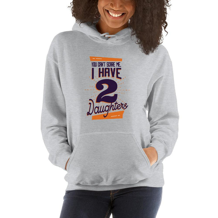 Two Daughters Unisex Hooded Sweatshirt