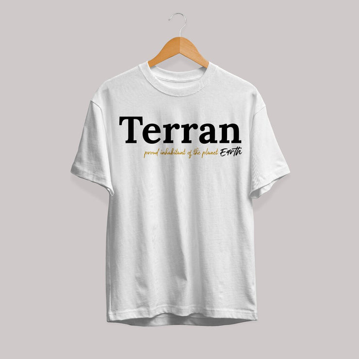 Terran Unisex Half Sleeve T-Shirt #Plus-sizes