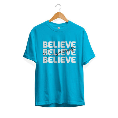 Believe Yourself Half Sleeve T-Shirt