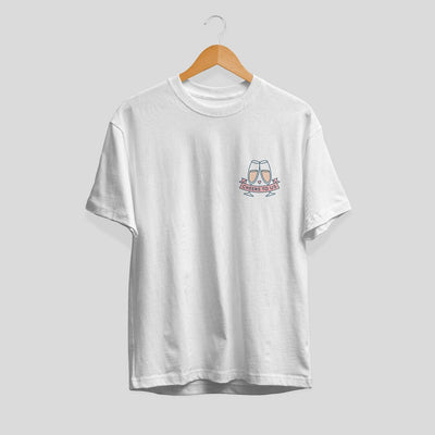 Cheers To Us Half Sleeve Unisex T-Shirt #Pocket-design