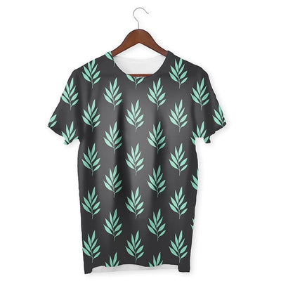 Leaves Pattern T-Shirt