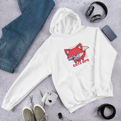 Cute Fox Unisex Hooded Sweatshirt