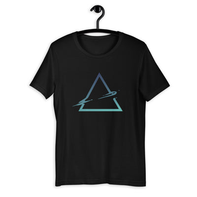 Triangle Abstract Half-Sleeve Unisex T-Shirt #Plus-sizes