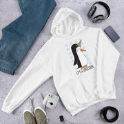 Penguin Unicorn Unisex Hooded Sweatshirt