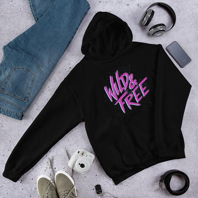 Wild & Free Unisex Hooded Sweatshirt