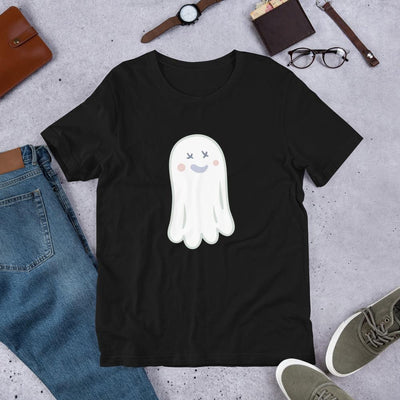 Ghost Halloween Unisex Half-Sleeve T-Shirt #Plus-sizes
