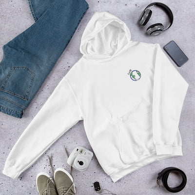 Earth Unisex Hooded Sweatshirt #Pocket-design