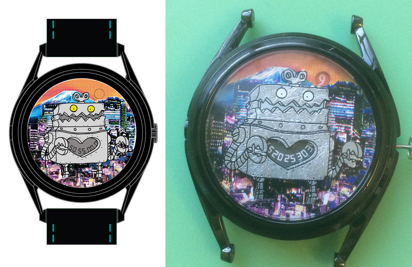 Robotto Shi watch samples