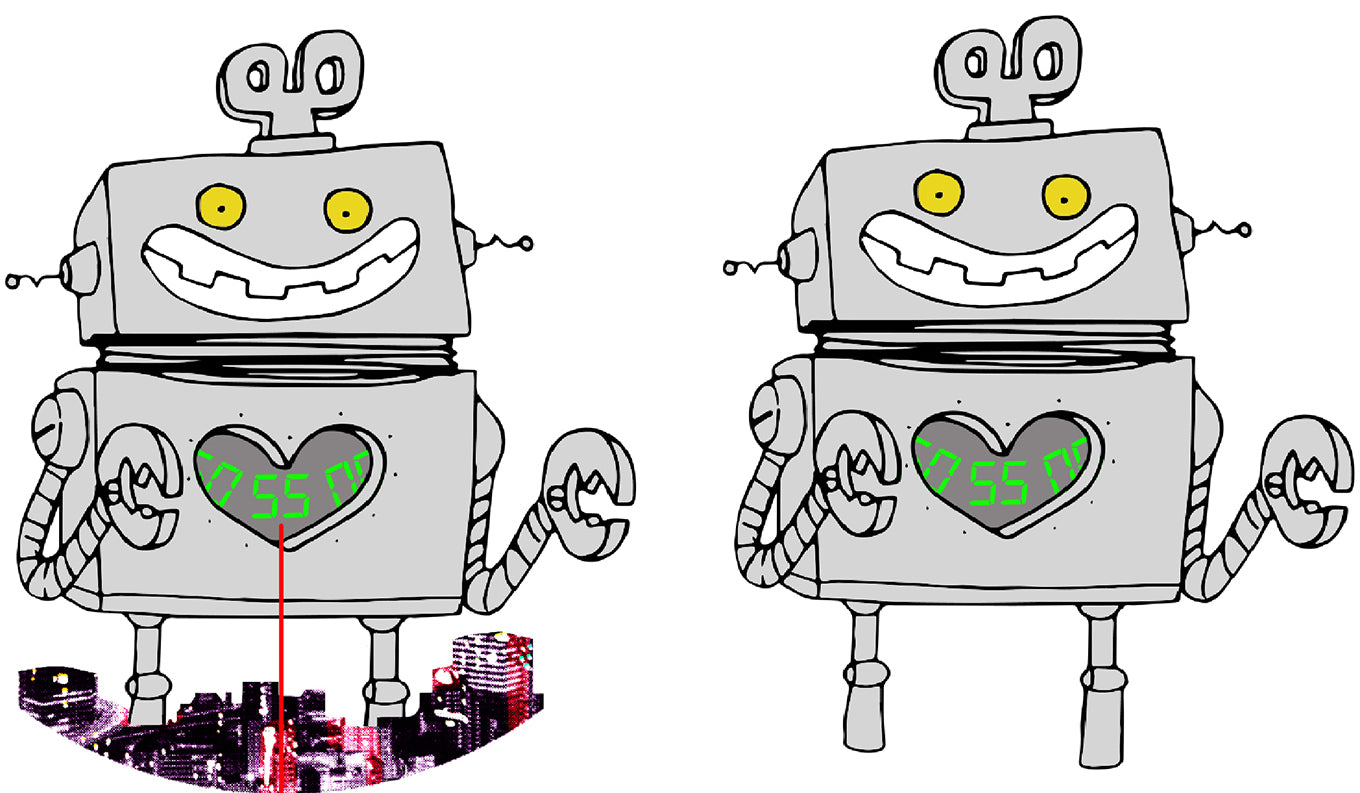 Final robot drawings