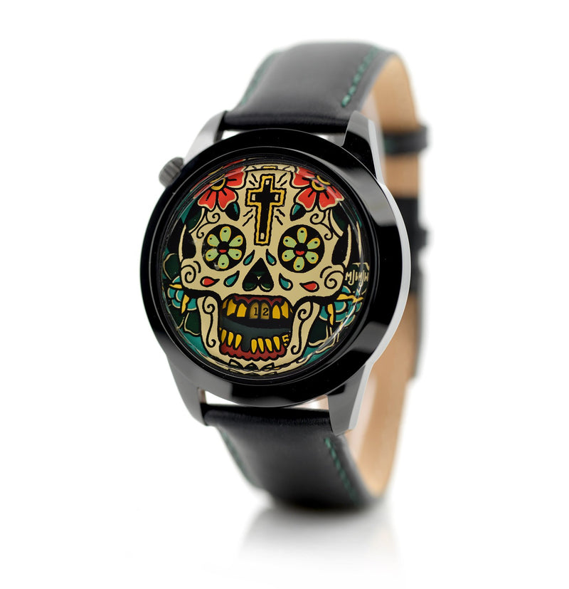 Last Laugh Tattoo XL watch side view