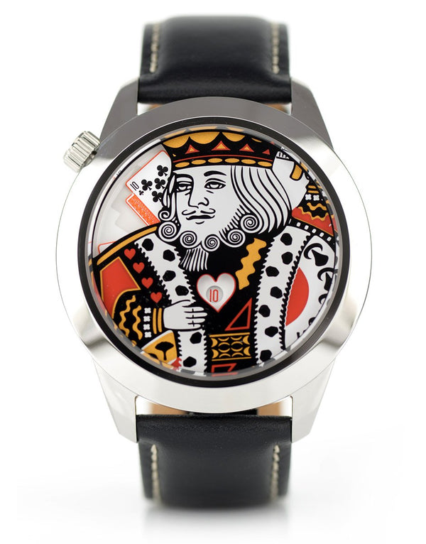 King XL watch, front facing.