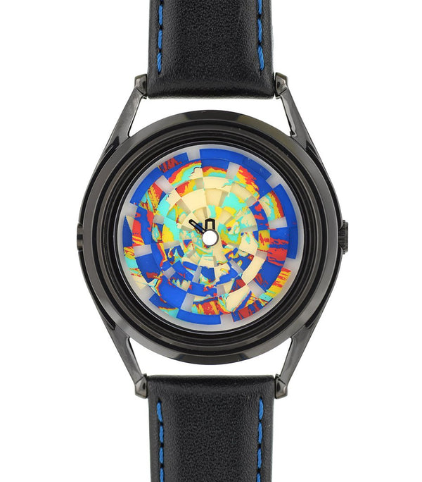 Ambassador colourful skull watch by Mr Jones Watches - flat view