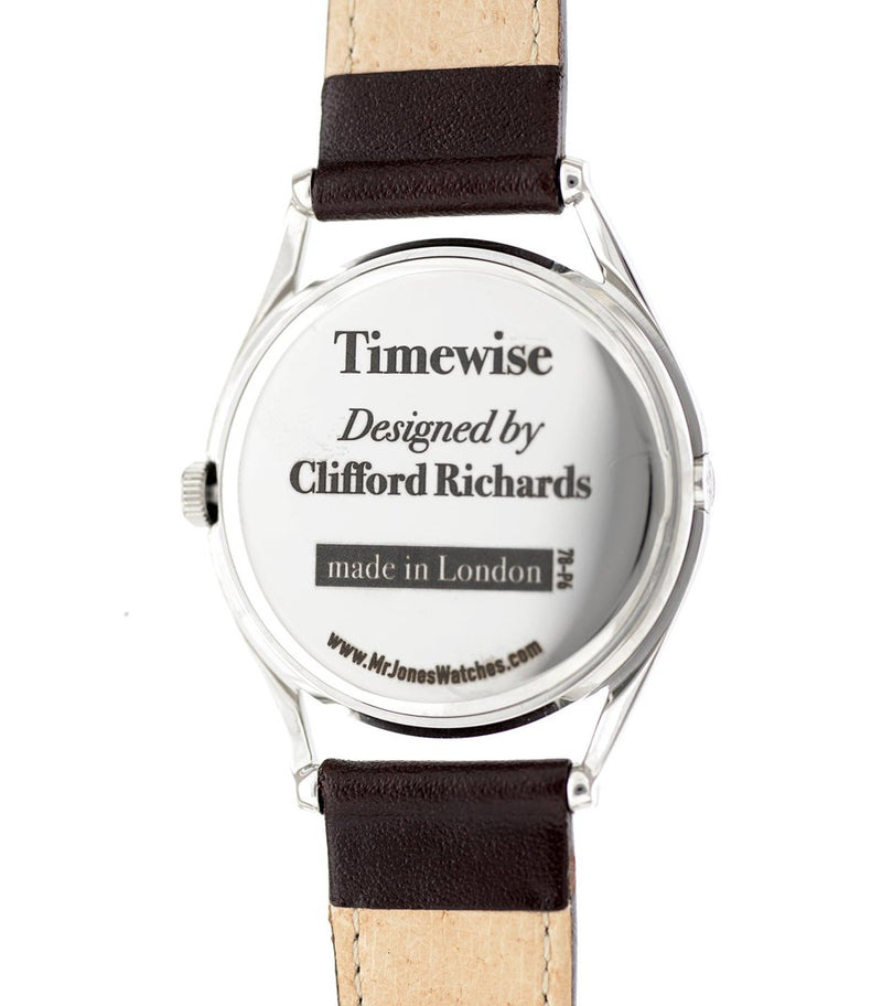 Timewise watch caseback