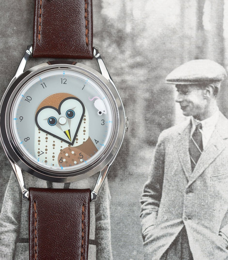 Timewise owl watch