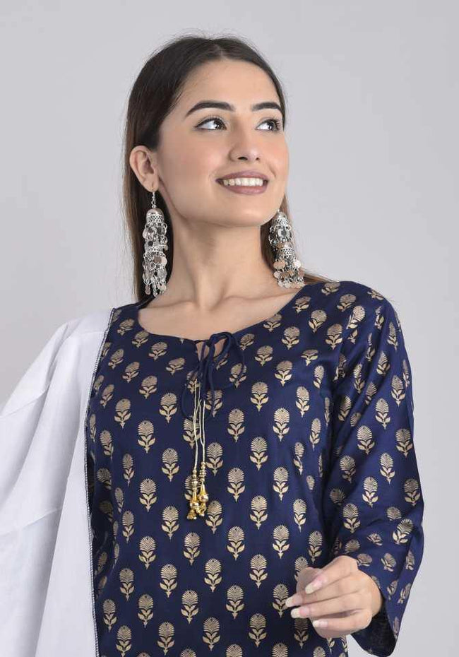 AY - Kurta and Sharara Set Rayon - ZERESOUQ