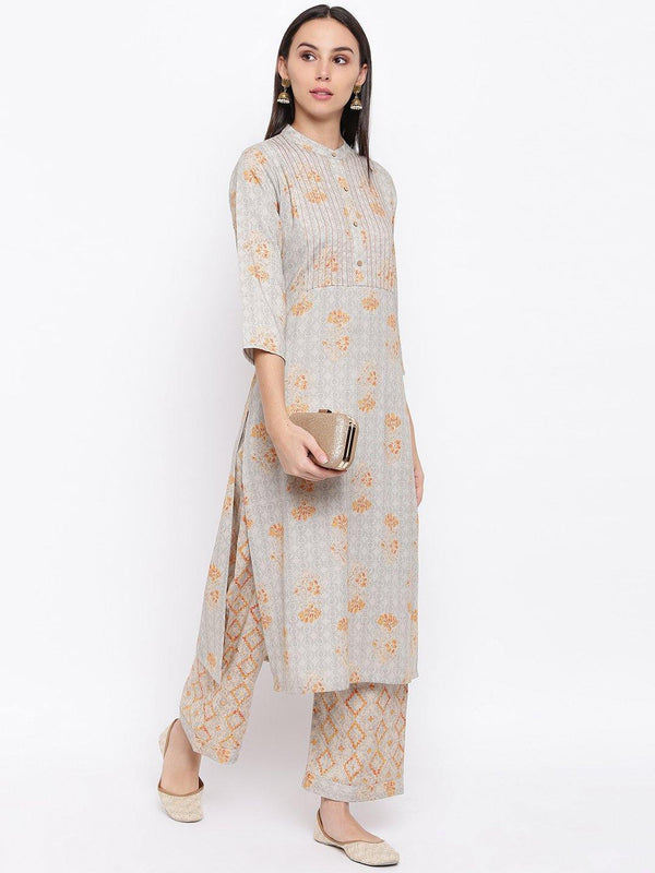Printed Kurta and Pant Set - ZERESOUQ
