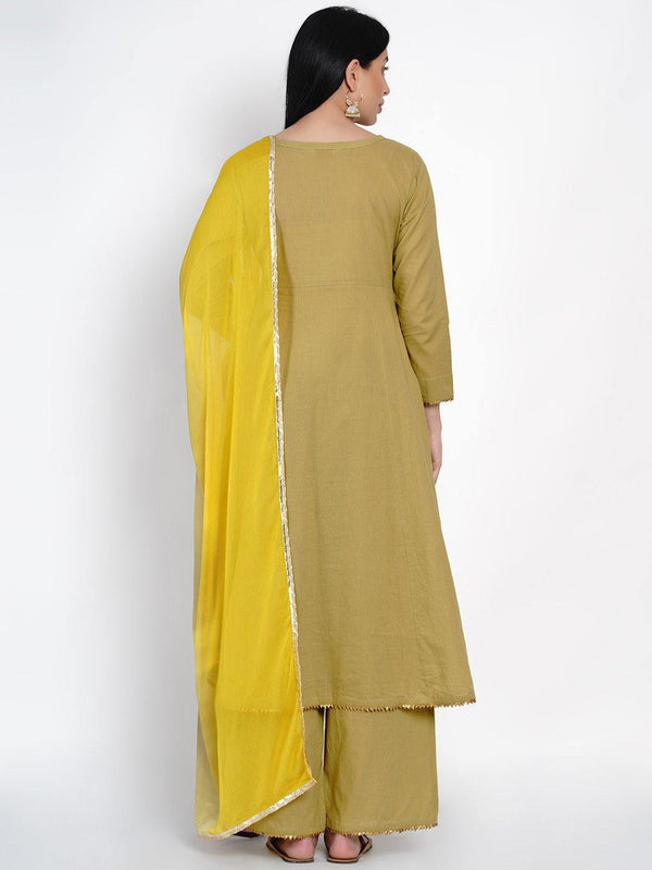 Flared Kurta And Pant Set