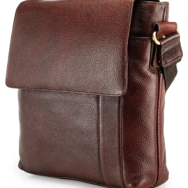 Leather Messenger Bag - ZERESOUQ