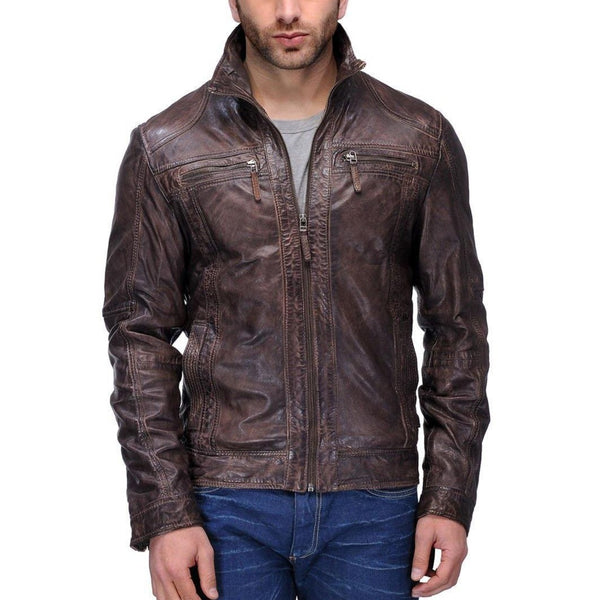 Full Sleeve Solid Men's Jacket