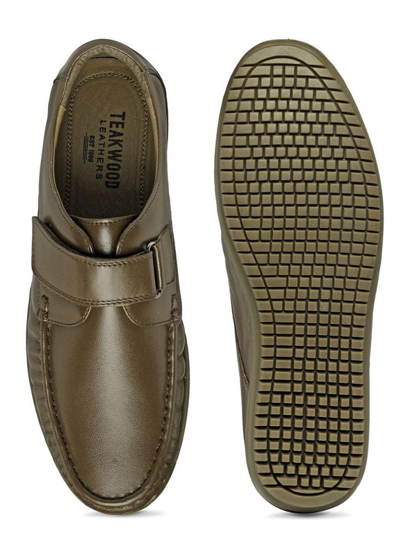 Semi-Formal Velcro Strap Slip-On
